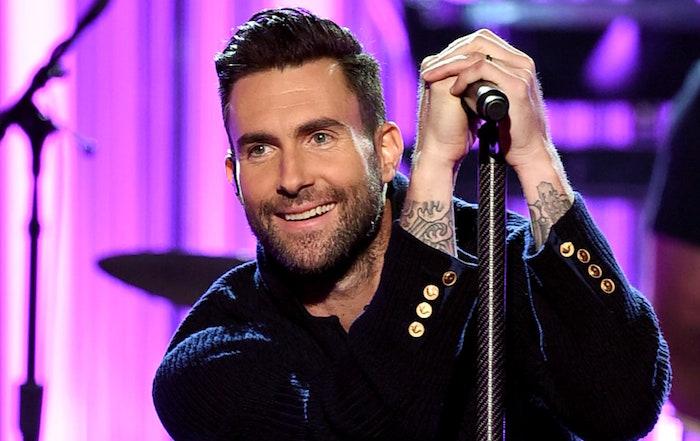 Maroon 5 - Wait Адам Левин