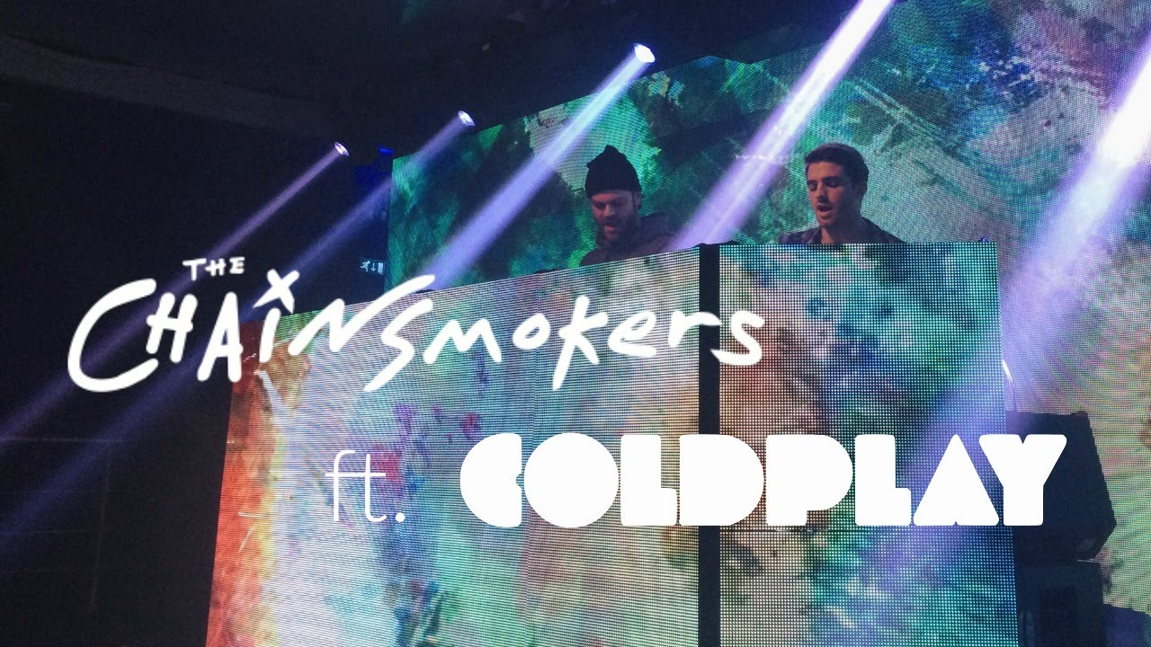 Coldplay ft. The Chainsmokers — I Need You