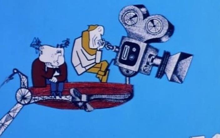 «Фильм, фильм, фильм!» Песня из мультфильма (1968)