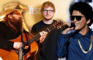 Ed Sheeran, Chris Stapleton, and Bruno Mars - BLOW текст песни