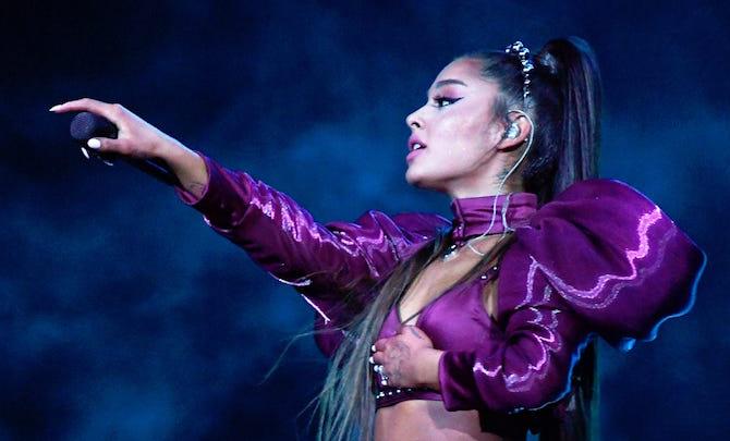 Ариана Гранде заняла чарты октября 2020