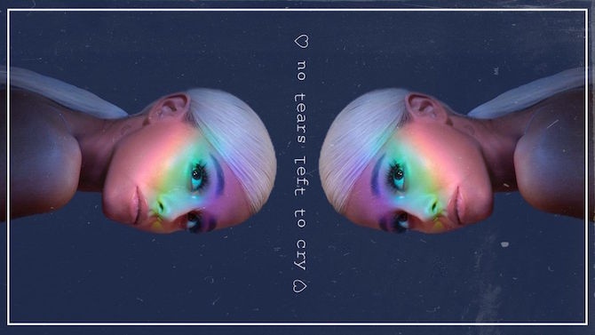 Ariana Grande no tears left to cry текст